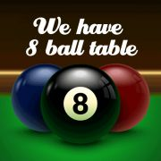 8. Pool comp every Thurs @ 7pm